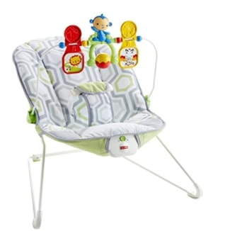 Amazon: Fisher-Price Baby's Bouncer Geo Meadow for $20.99 Shipped! (Reg. $39.99)
