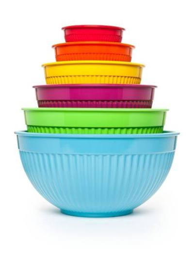 Belk: Cooks Tools™ 6-Piece Ribbed Mixing Bowl Set $20.00 (Reg $50.00)