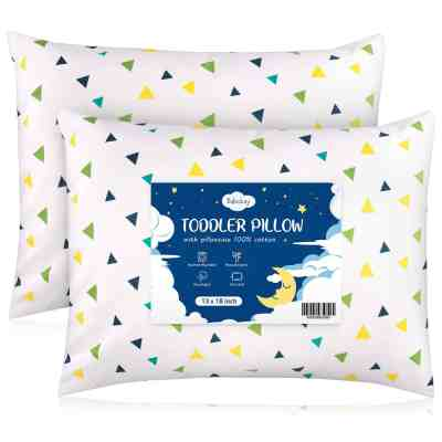 Amazon: Babebay Toddler Pillow with Pillowcase, 2Pack, Just $9.49 (Reg $18.99) after code!