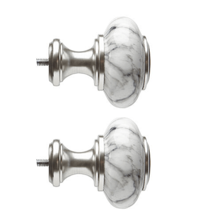 JCPenney: Home Mix & Match Faux Marble Doorknob 2-pc. Finials ONLY $10.19 (Reg $35)