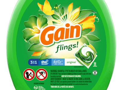 Amazon: Gain flings Laundry Detergent Pacs Plus Aroma Boost 96-Count Only $16.08