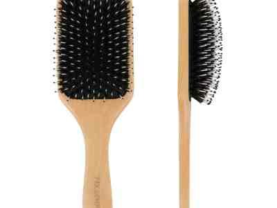 Amazon: Hair Brush w/ Boar Bristle, Wooden Handle for $4.49 (Reg $9)