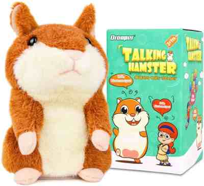 Amazon: Qrooper Talking Hamster Plush Toy for $8.45