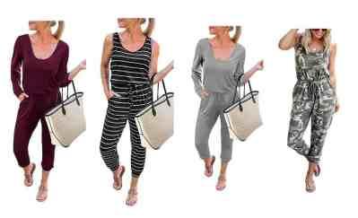 Amazon: Kirundo Women's Casual Jumpsuits from $17.99