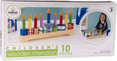 Amazon: KidKraft Children's Menorah, Just $16.01 (Reg $30.99)