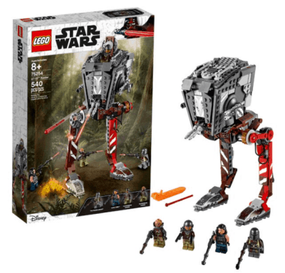 Walmart: LEGO Star Wars AT-ST Raider 75254 Collectible Building Model for $39.99 + Free Shipping! (Reg.$49.99)