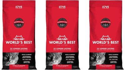 Amazon: World's Best 28 Pounds Cat Litter for ONLY $16.82 (Reg $27)