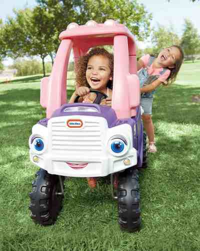 Amazon: Little Tikes Princess Cozy Truck, Pink Truck, Just $89.99 (Reg $269.99)