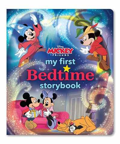 Zulily: My First Mickey Mouse Bedtime Storybook Hardcover Now $9.49