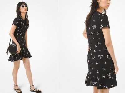 Michael Kors: Women's Flounce Dress for JUST $65 + FREE Shipping (Reg $225)