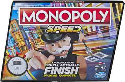 Amazon: Monopoly Speed Board Game for $9.99 (Reg.Price $19.99)