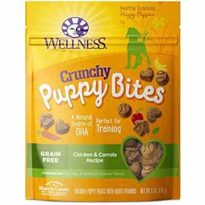 Amazon: Wellness Natural Pet Food Grain-Free Crunchy Puppy Bites Dog Treats Now $2.04 (Was $4.99)