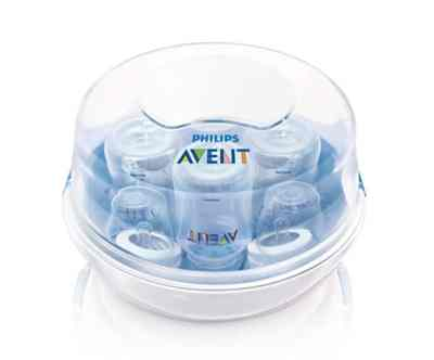 Amazon: Philips Avent Microwave Steam Sterilizer for $16.59