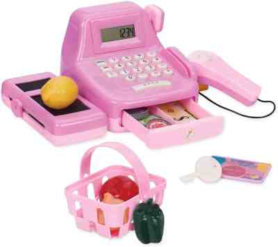 Amazon: Pink Cha-Ching Cash Register Set with Sounds, Just $7.97