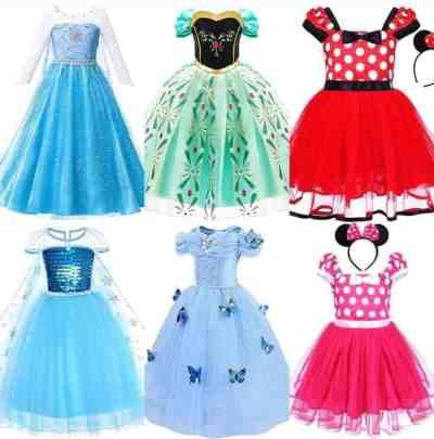 Amazon: Princess Dress Fancy Dress Up Cosplay, Just $8-$16, for a limited time only!