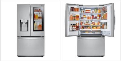 Home Depot: LG 26 cu. ft. 3-Door French Door Smart Refrigerator $2,498.00 (Reg $3,049.00)