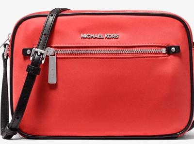 Michael Kors Large Nylon Crossbody Bag for $63!!(Reg. $328)