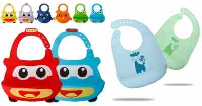 Amazon: 2pk Silicone Baby Bibs for Babies & Toddlers For $4.99 (Reg $13)