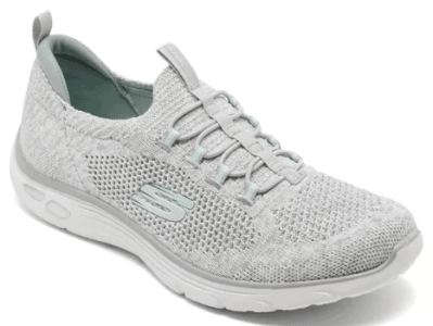 Macy's: Skechers Empire D'Lux Sharp Witted Athletic Walking Sneakers for $30.00 (Reg. Price $70.00)