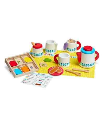 Zuilily: Steep & Serve Toy Tea Set Now $16.98 (Reg $29.99)