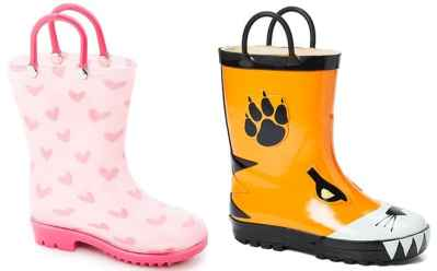 Zulily: Toddler & Kids Rain Boots for ONLY $9.99 (Regularly $25)