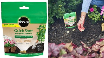 Amazon: Miracle-Gro Quick Start Planting Tablets for ONLY $3.80 (Reg $7)