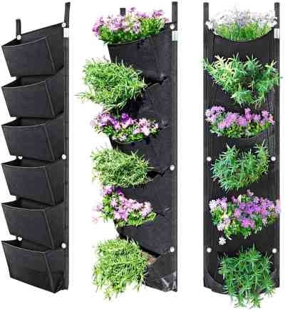 Amazon: Vertical Wall Garden Planter with 6 Pockets for $7.49 (Reg. Price $14.99)