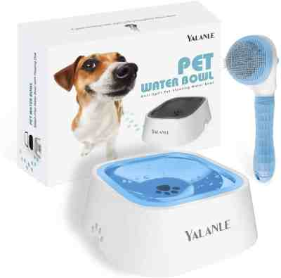 Amazon: ALANLE Dog No Spill Water Bowl For $5.99