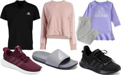 Zulily: Adidas Apparel & Shoes for the Entire Family Up To 60% OFF – From ONLY $9.79!