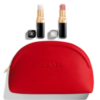 Chanel: Shine Bright Lip set in a pouch $80!!