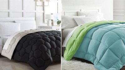 Zulily: Up to 70% Off on Down Alternative Comforters – From JUST $21.99!