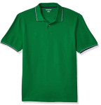 Amazon: Amazon Essentials Men's Standard Slim-fit Cotton Pique Tipped Polo for $7.80 (Reg. $12.00)