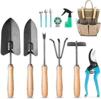 Amazon: 12Pcs Gardening Tools Ergonomic Comfortable Handle & Heavy Duty $20 (Reg $40)