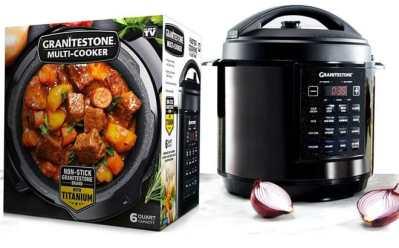 Home Depot: Granite Stone 6 Quart Multi Pressure Cooker ONLY $69 (Reg $100)