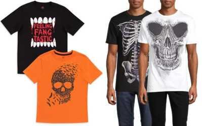 Walmart: Halloween T-Shirts & Leggings Starting at ONLY $4.88