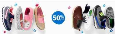Carter's: Cute Shoes and Sandals for Toddlers, 50% off!