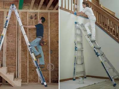 Home Depot: Werner 22 Feet Aluminum Multi Position Pro Ladder ONLY $99 + FREE Shipping (Reg $229)