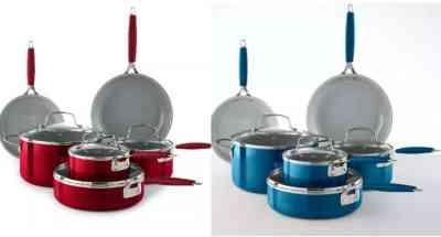Macy's: Food Network™ 10-pc. Nonstick Ceramic Cookware Set $79.99 ($130)