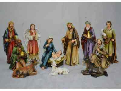 Wayfair: 12 Piece Nativity Figurine Set Now $45.99