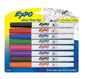 Amazon: 8 Count Assorted Colors Expo Low-Odor Dry Erase Markers only $5.79 (Reg. $14.25)