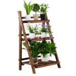 Walmart: 3 Tier Folding Wooden Flower Stand $42.99 (Was $49.99) + Free Shipping.