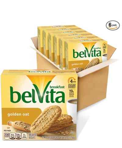 Amazon: 6 Pack belVita Golden Oat Breakfast Biscuits for $8.80