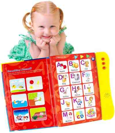 Amazon: ABC Sound Book for Children. English Letters & Words learning toys, Just $19.99 (Reg $33.99)