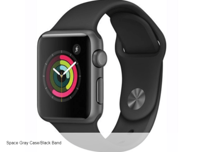 Woot: Apple Watch Series 1 Space Gray Case/Black Band (38mm) ONLY $109.99 + FREE Shipping
