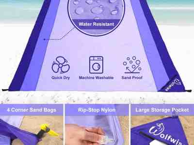 Amazon: Extra Large Sand Escape Super Soft Blanket $9.1 ($13)