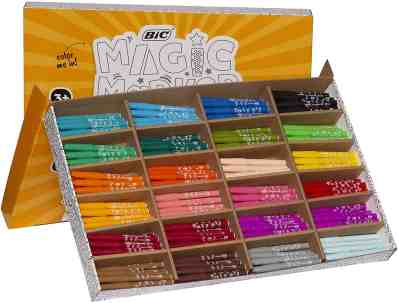 Amazon: BIC Easy Hold XL Magic Marker, Assorted Colors, 220-Count, 50% off at checkout!