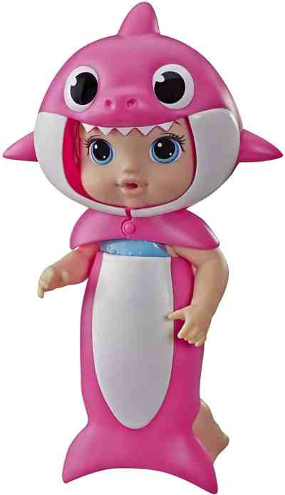 Amazon: Baby Alive, Baby Shark Blonde Hair Doll, with Tail & Hood for $14.49 (Reg.Price $24.99)