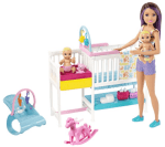 Walmart: Barbie Nap 'n Nurture Nursery Dolls Playset for $20.69 (Reg $29.88)