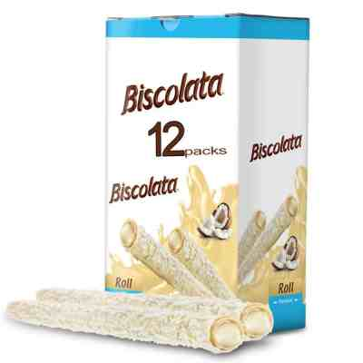 Amazon: Biscolata Rolled Wafers Snacks, 12 Pack for $5.99 (Reg. Price $14.99) at checkout!