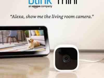 Amazon: Blink Mini Only $24.99 (Reg. $34.99)